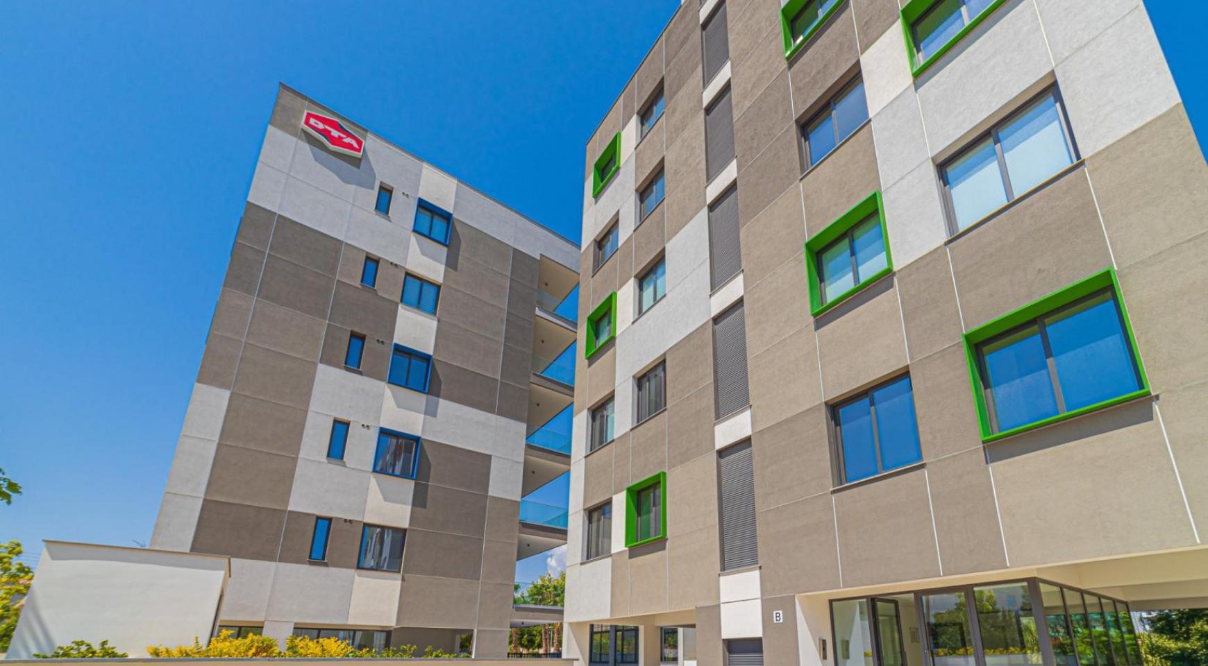 Urban City Residences, Кв. C 202. 2-Спальная Квартира в Новом Комплексе в Центре Города - 8