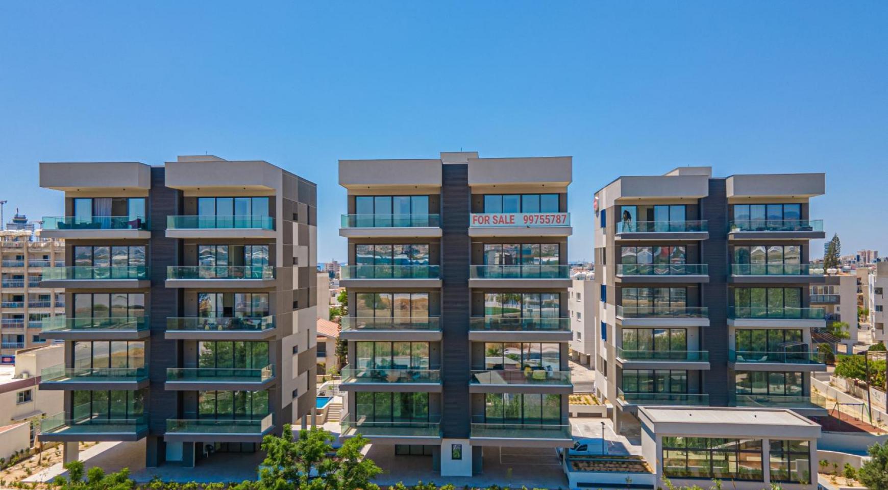 Urban City Residences, Кв. C 202. 2-Спальная Квартира в Новом Комплексе в Центре Города - 1