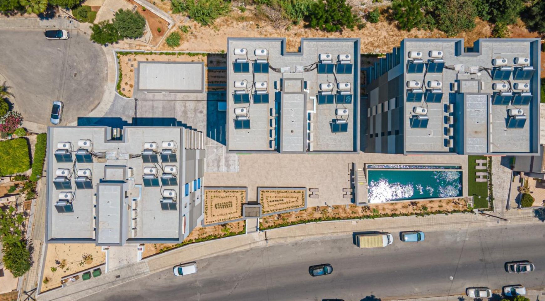 Urban City Residences, Кв. C 202. 2-Спальная Квартира в Новом Комплексе в Центре Города - 9
