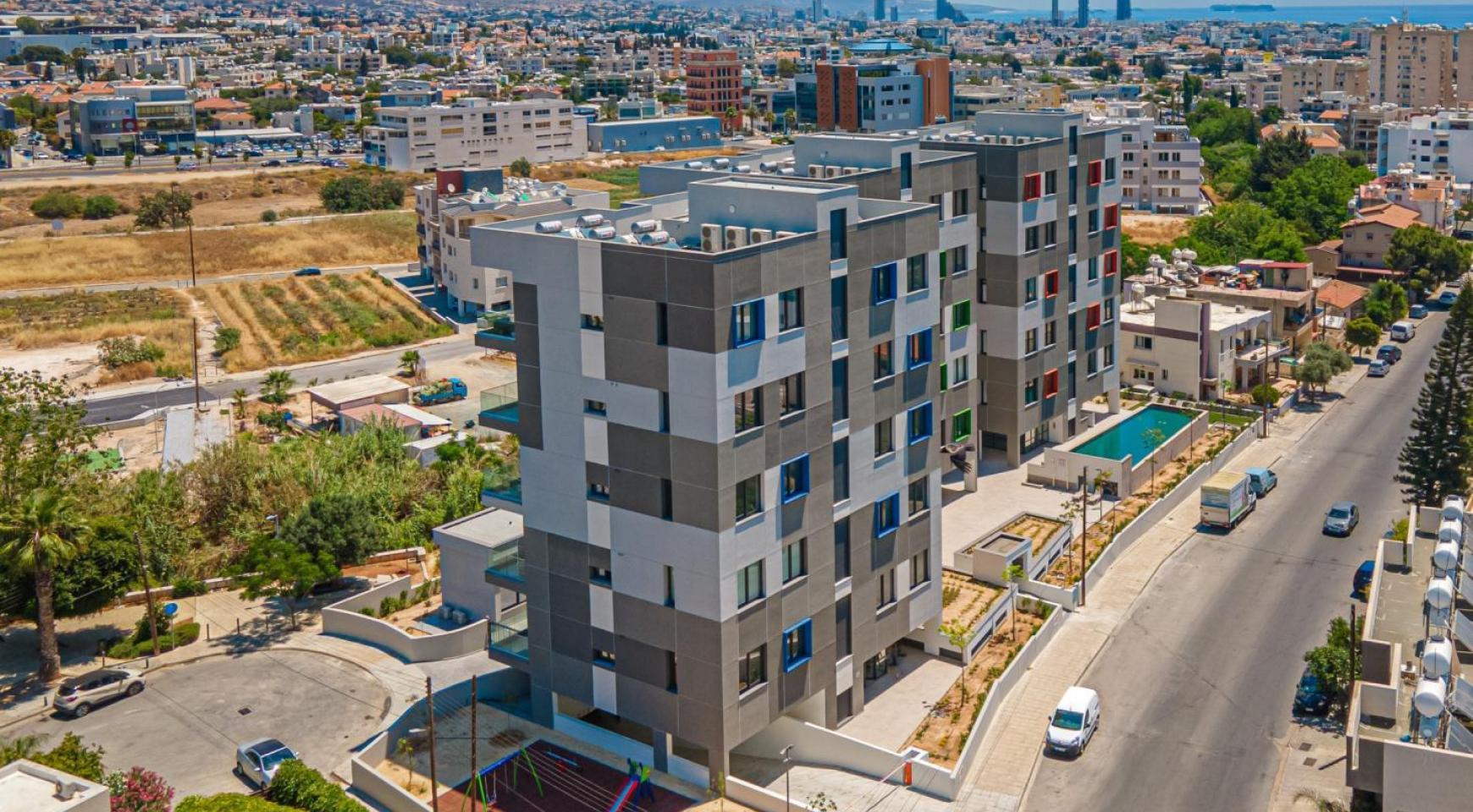 Urban City Residences, Кв. C 202. 2-Спальная Квартира в Новом Комплексе в Центре Города - 4