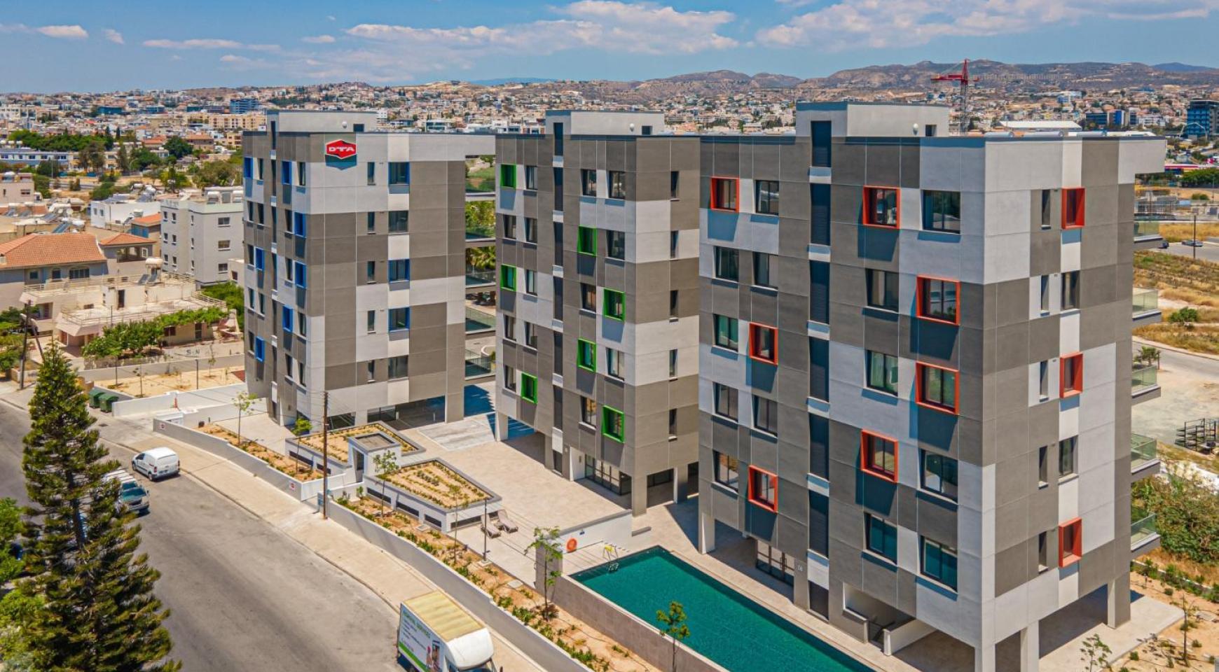 Urban City Residences, Кв. C 202. 2-Спальная Квартира в Новом Комплексе в Центре Города - 5