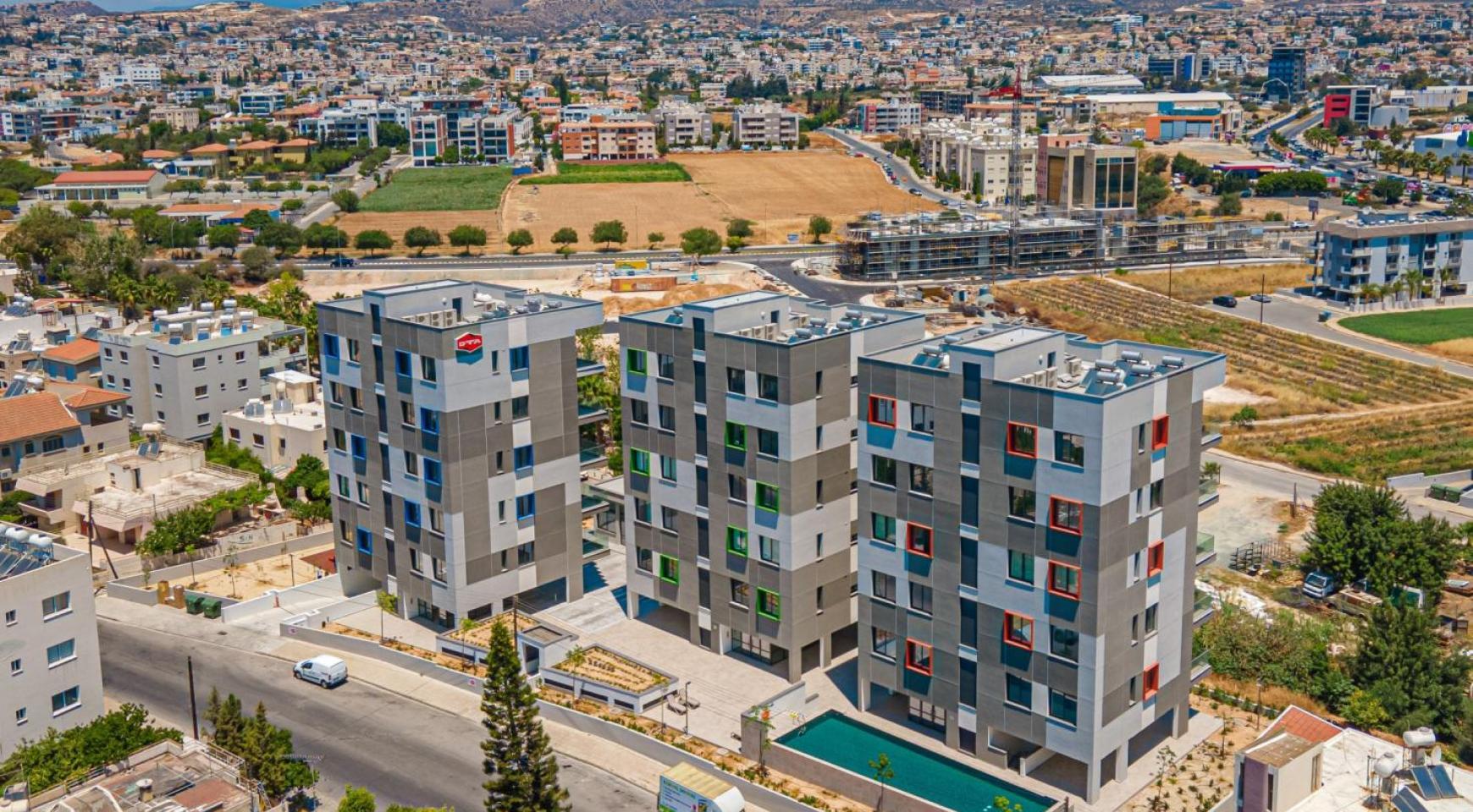 Urban City Residences, Кв. C 402. 2-Спальная Квартира в Новом Комплексе в Центре Города - 6