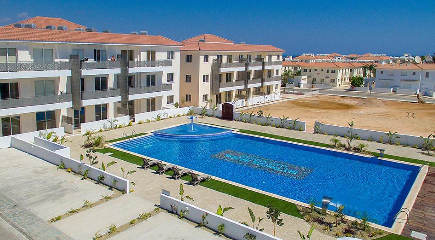 Новая 2-Спальная Квартира в Районе Kapparis - 8