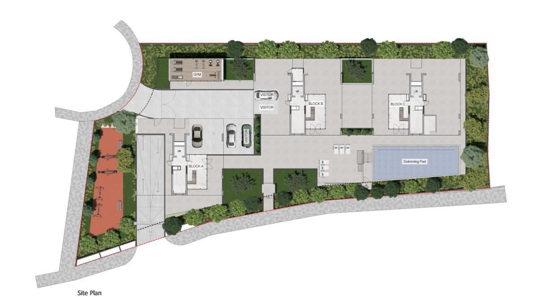 Urban City Residences, Block A. Новая Просторная 3-Спальная Квартира 201 в Центре Города - 45