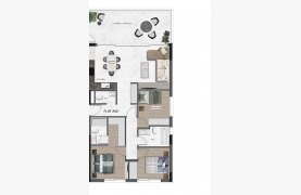 Urban City Residences, Apt. A 202. 2 Bedroom Apartment within a New Complex in the City Centre - 89