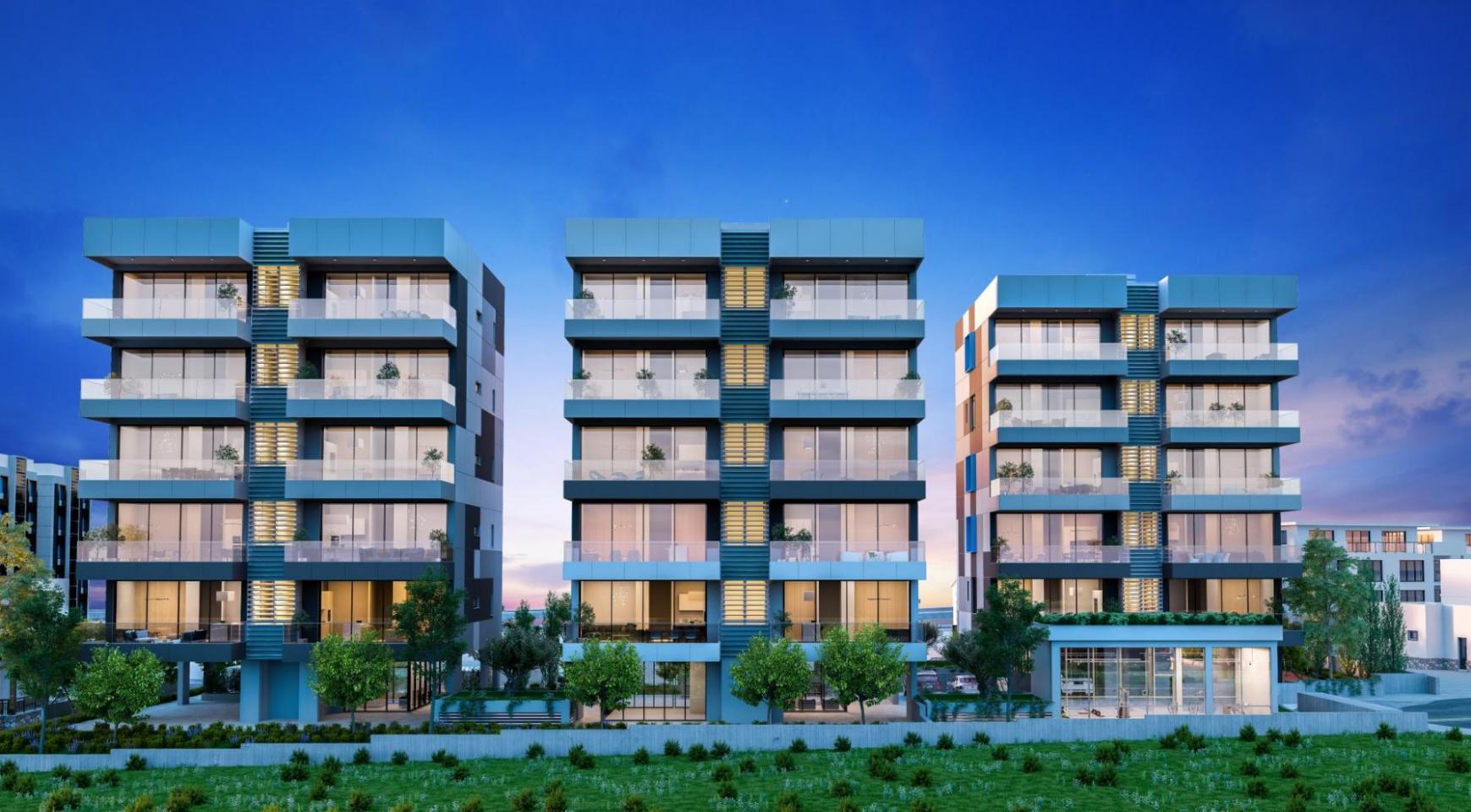 Urban City Residences, Block A. Новая Просторная 3-Спальная Квартира 501 в Центре Города - 33