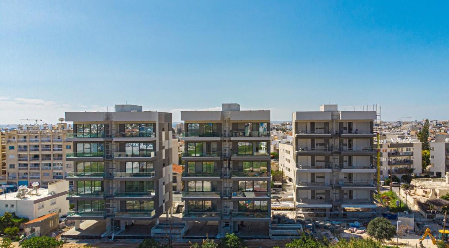 Urban City Residences, Block A. Новая Просторная 3-Спальная Квартира 501 в Центре Города - 2