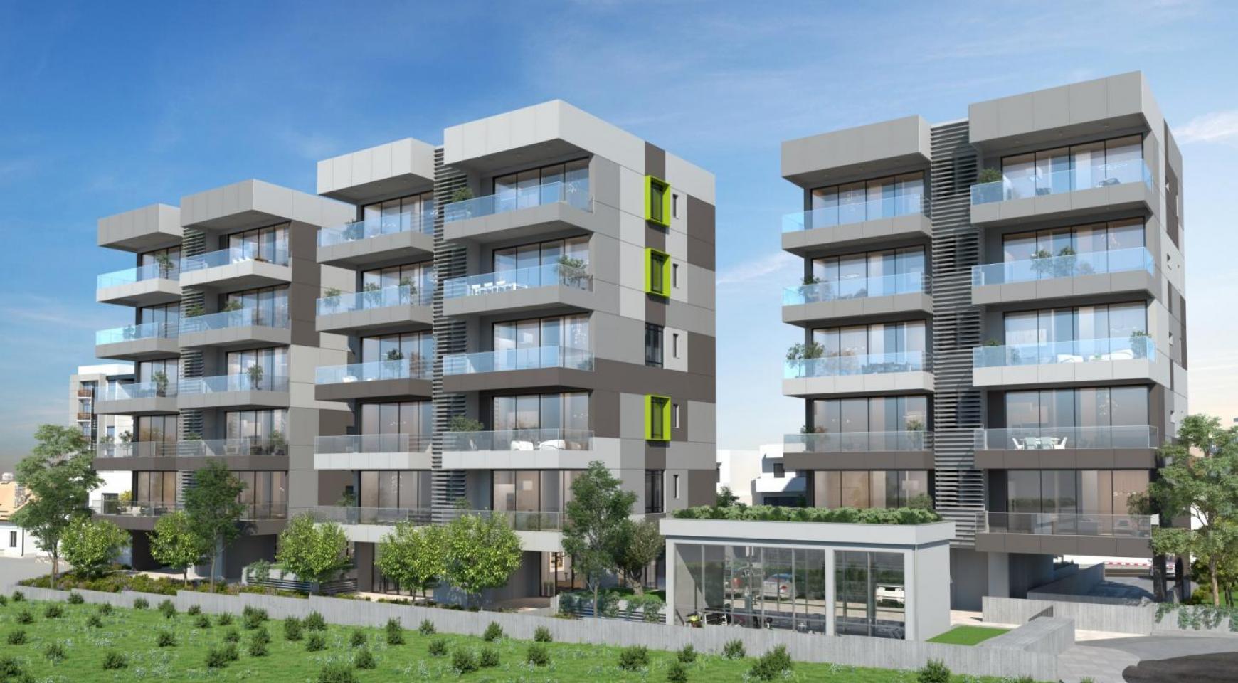 Urban City Residences, Block A. Новая Просторная 3-Спальная Квартира 501 в Центре Города - 32