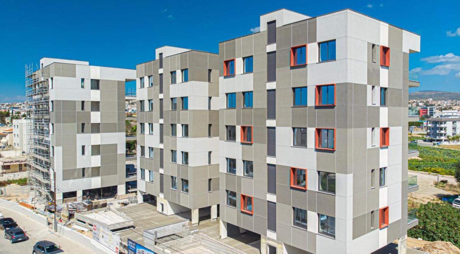 Urban City Residences, Block A. Новая Просторная 3-Спальная Квартира 501 в Центре Города - 5