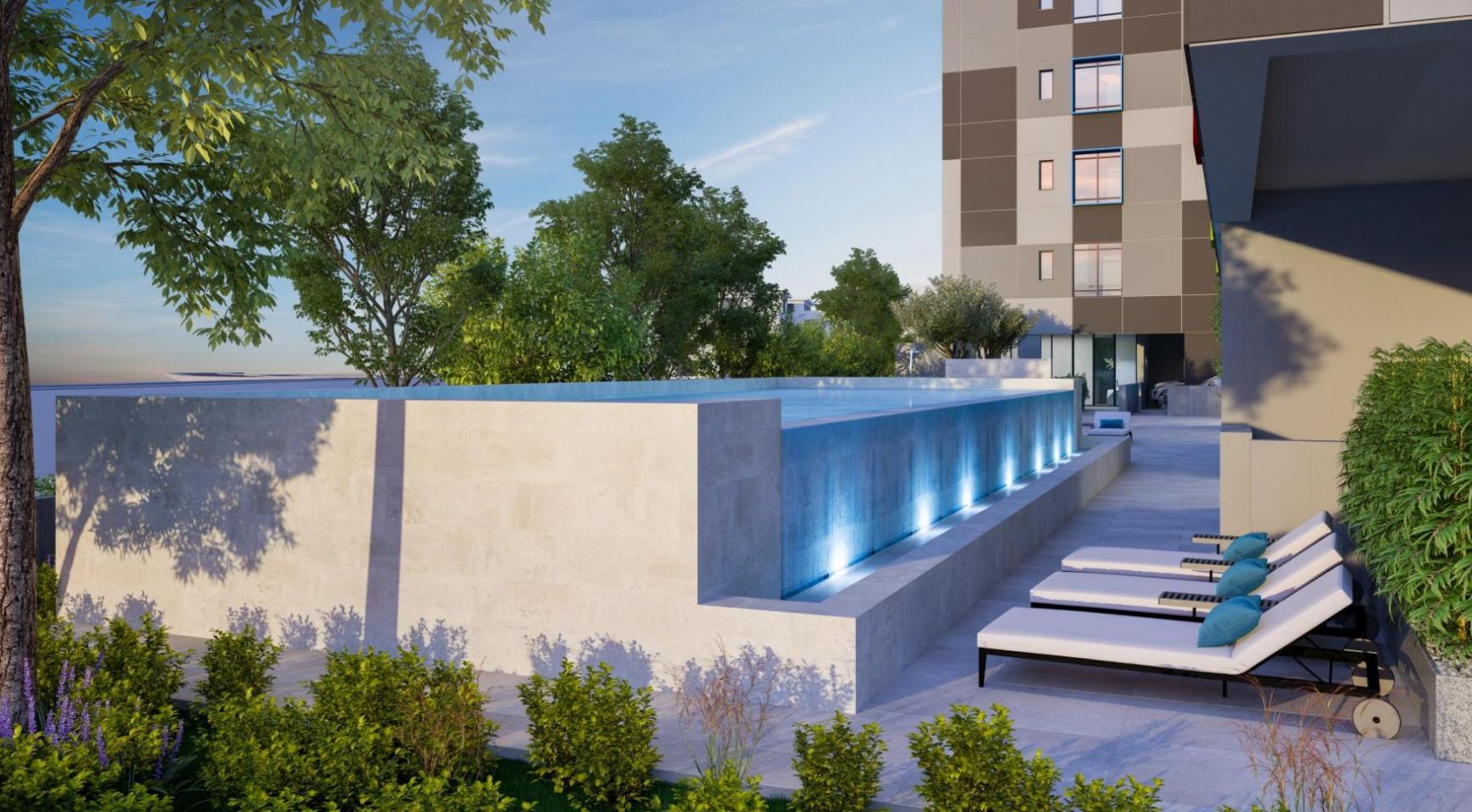Urban City Residences, Block A. Новая Просторная 3-Спальная Квартира 501 в Центре Города - 36