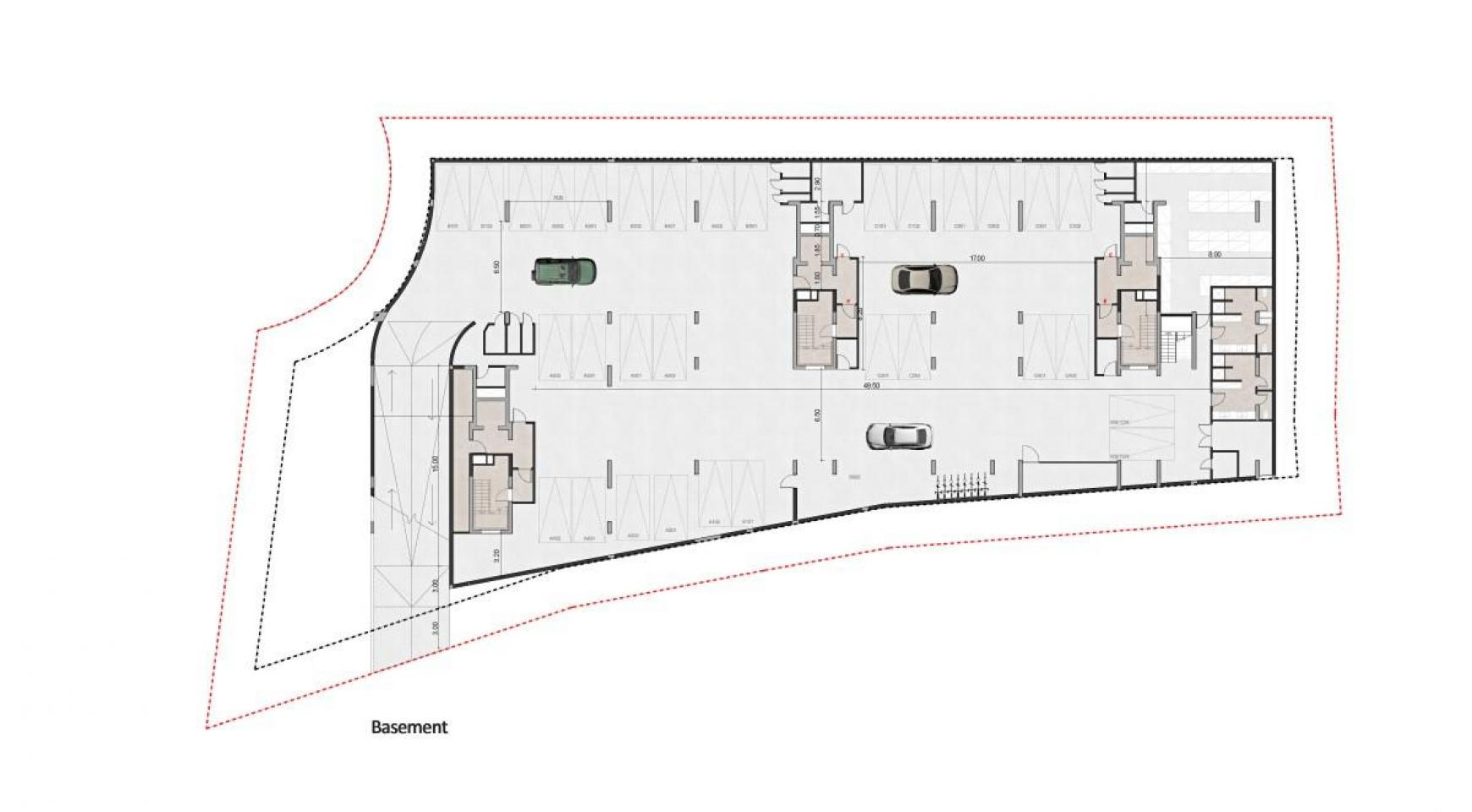 Urban City Residences, Кв. B 101. 3-Спальная Квартира в Новом Комплексе в Центре Города - 44
