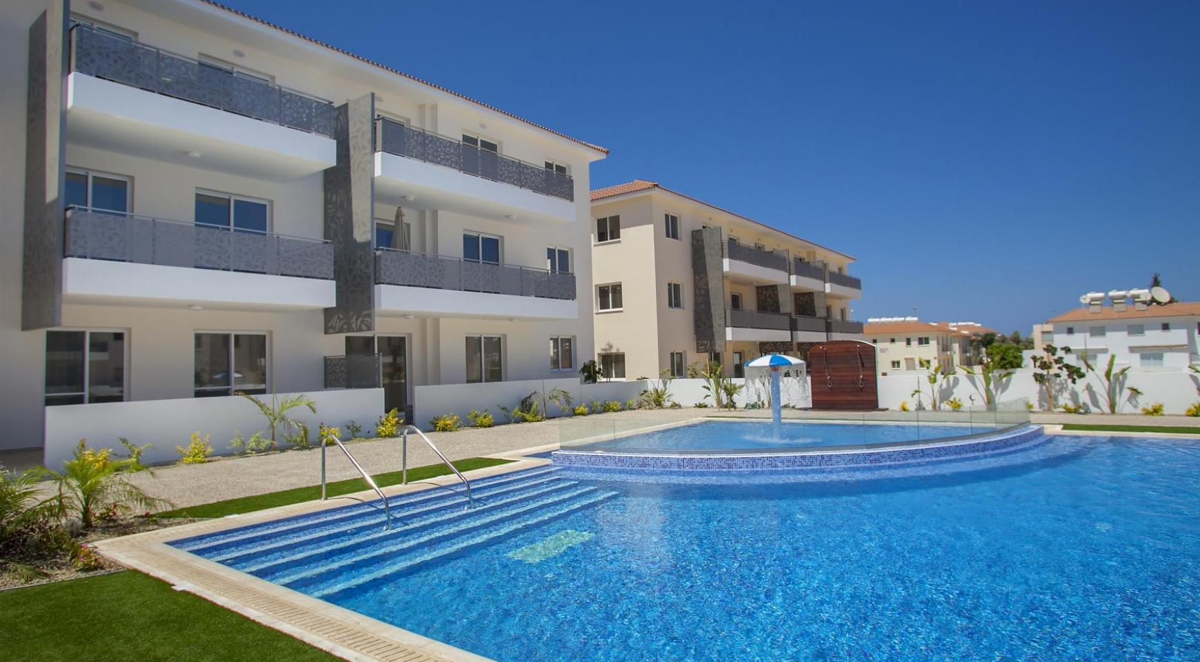 Новая 2-Спальная Квартира в Районе Kapparis - 28