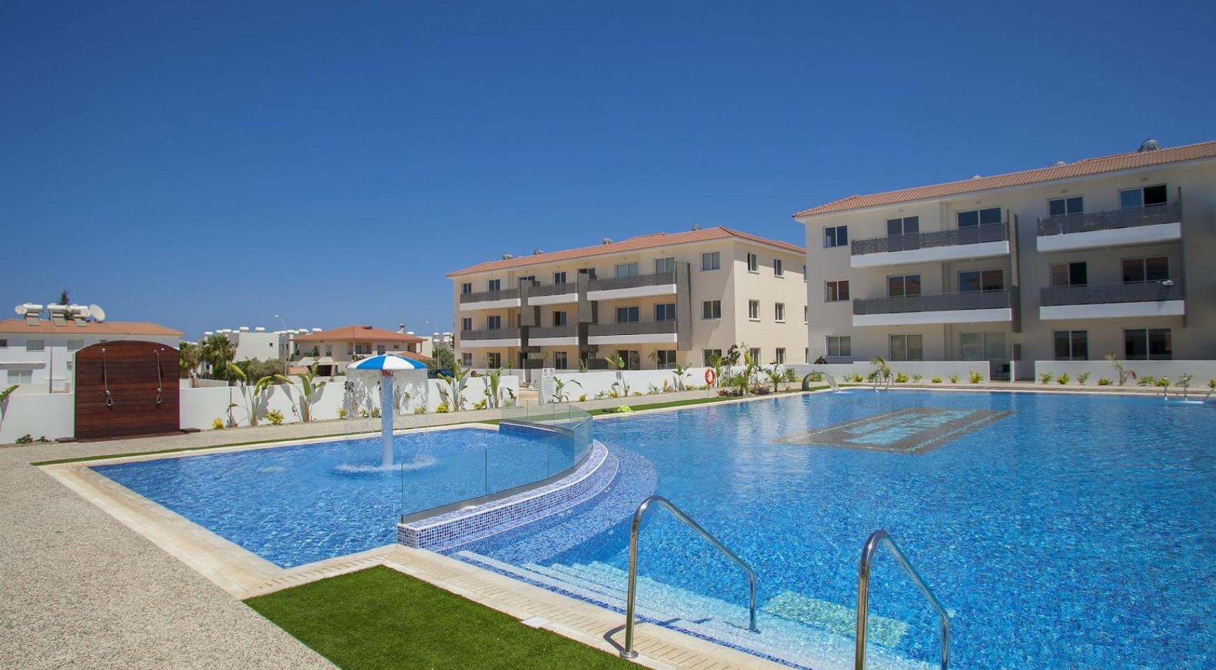 Новая 2-Спальная Квартира в Районе Kapparis - 1