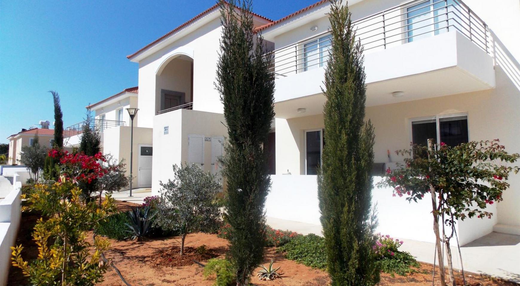 Новая 2-Спальная Квартира в Районе Kapparis - 39