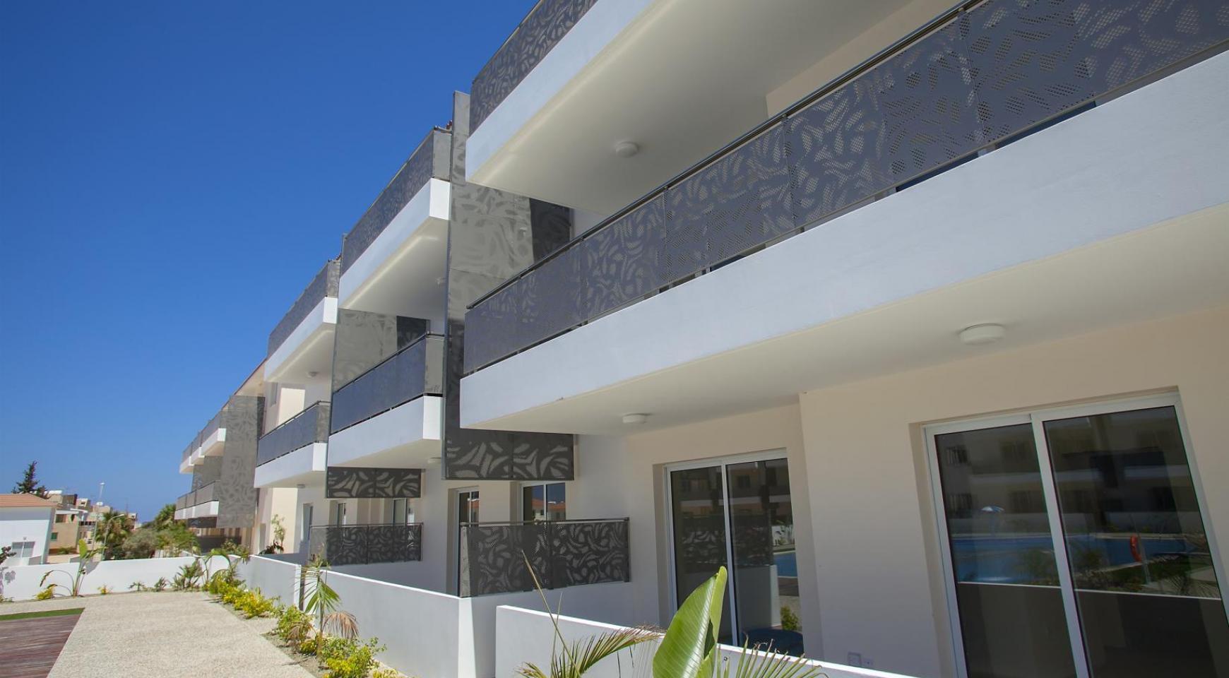 Новая 2-Спальная Квартира в Районе Kapparis - 18
