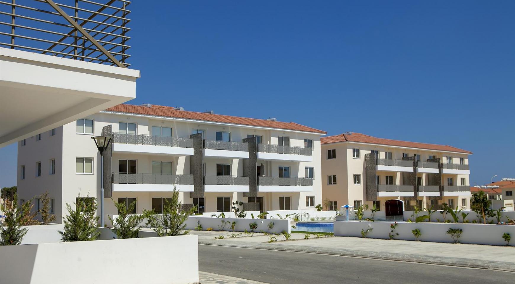 Новая 2-Спальная Квартира в Районе Kapparis - 19
