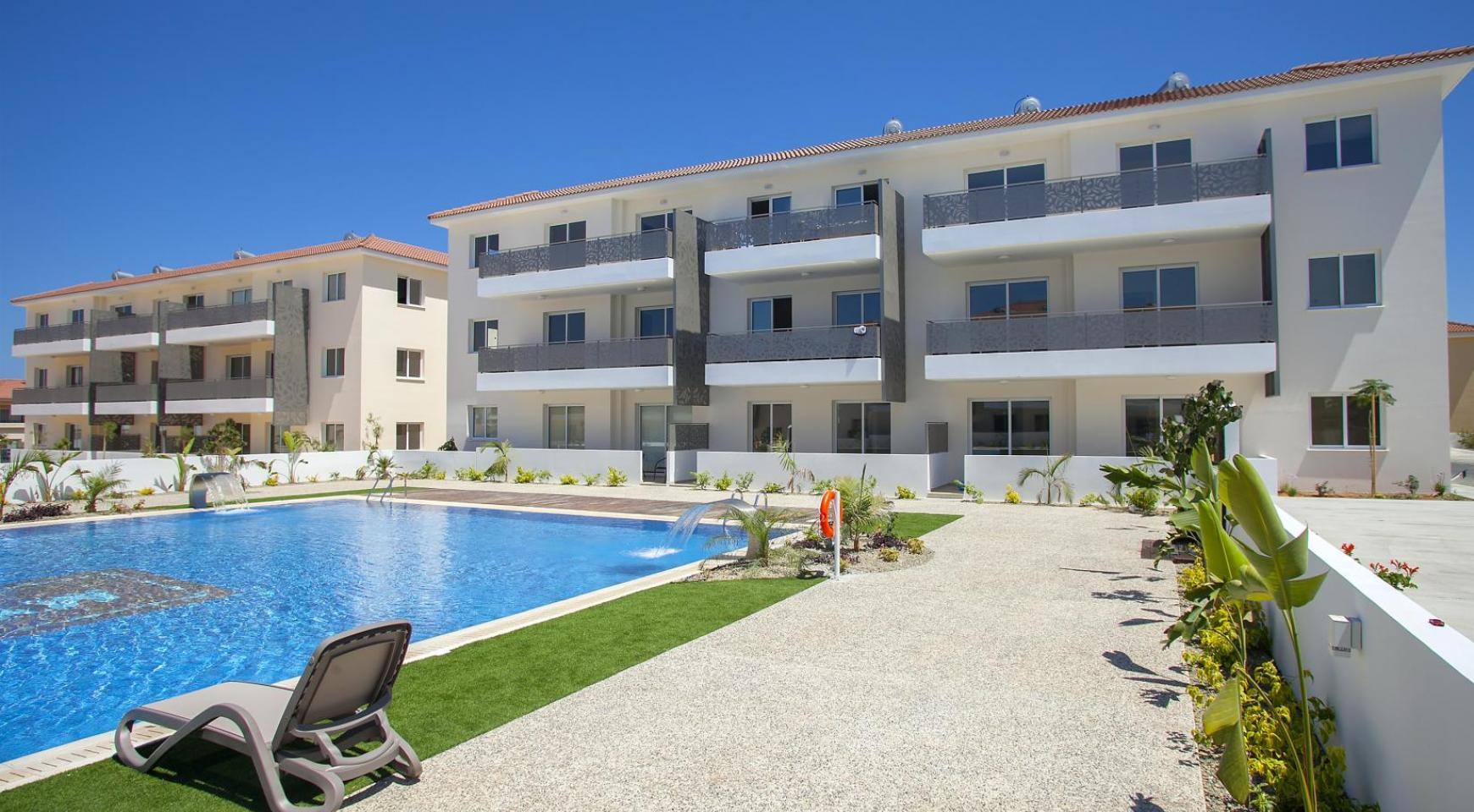 Новая 3-Спальная Квартира в Районе Kapparis - 27