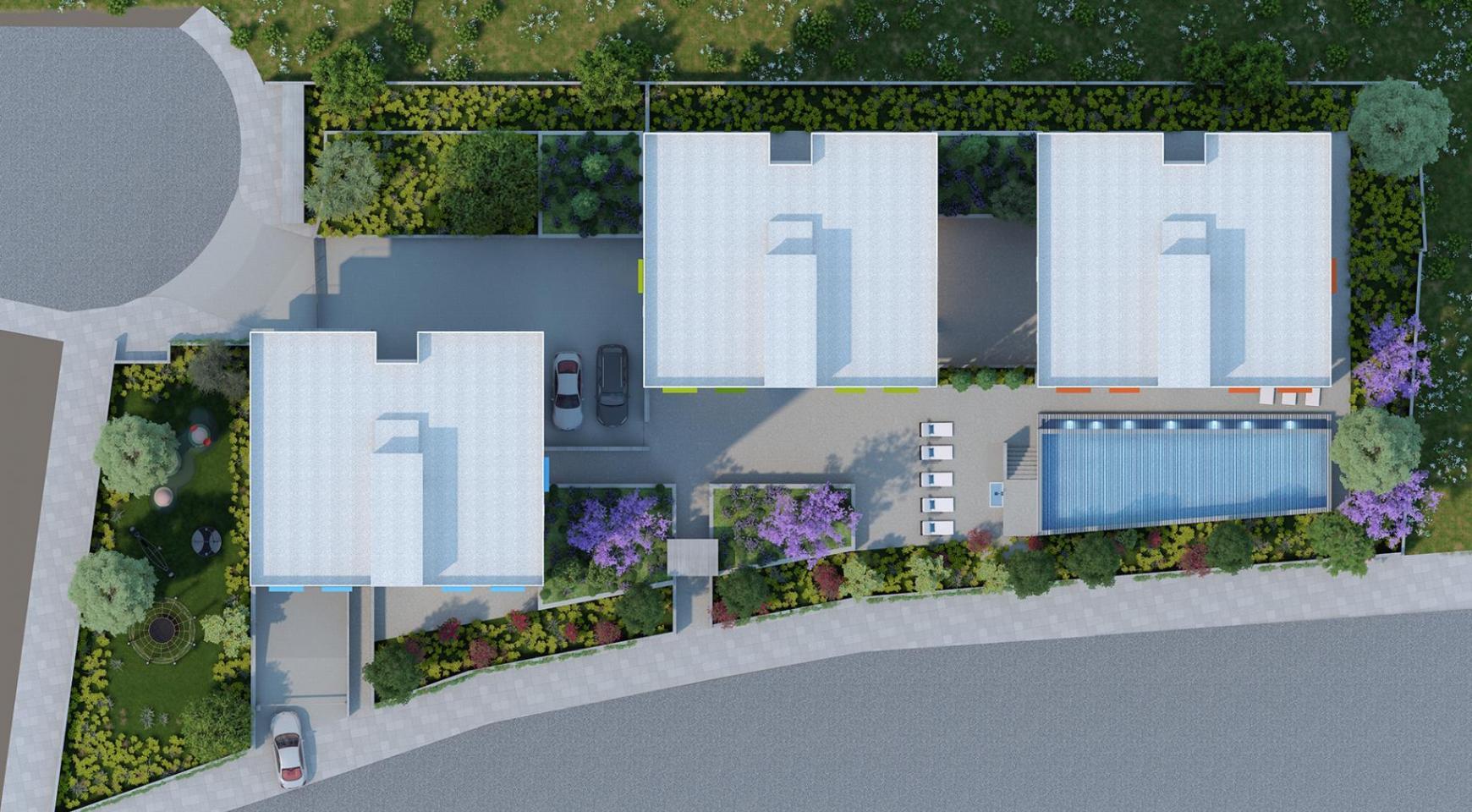 Urban City Residences, Block B. Новая Просторная 3-Спальная Квартира 201 в Центре Города - 33