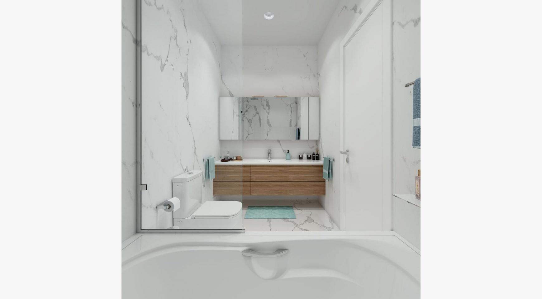 Urban City Residences, Block B. Новая Просторная 3-Спальная Квартира 201 в Центре Города - 16