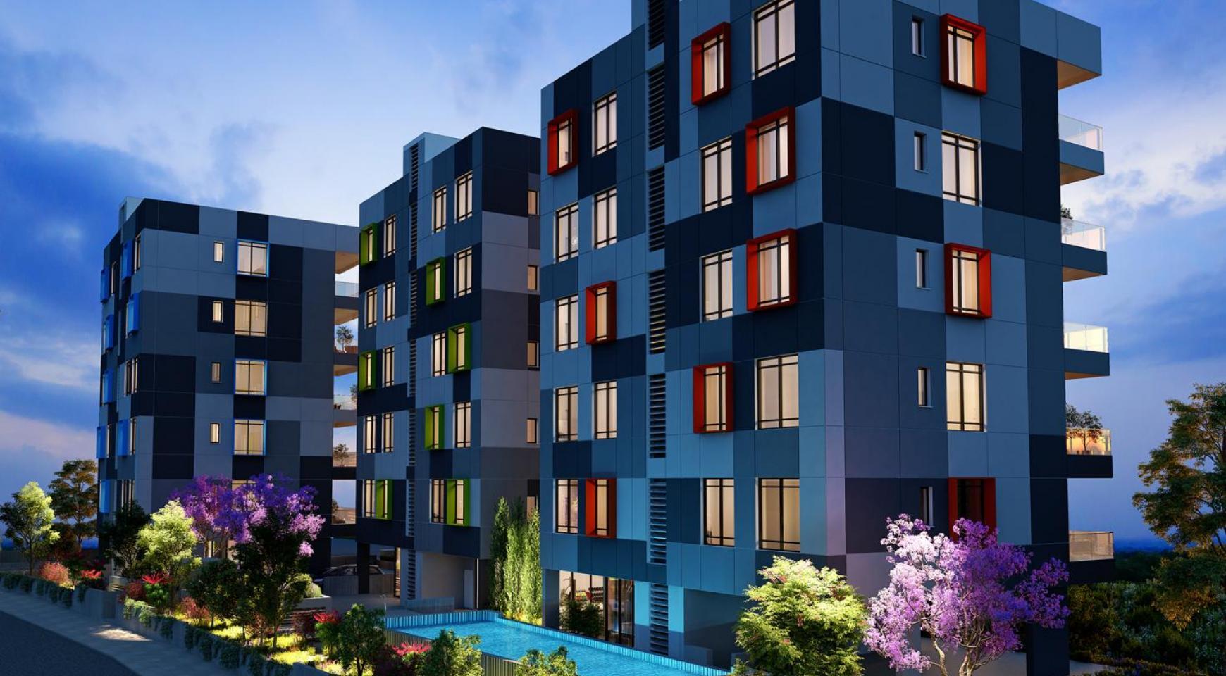 Urban City Residences, Block B. Новая Просторная 3-Спальная Квартира 201 в Центре Города - 19