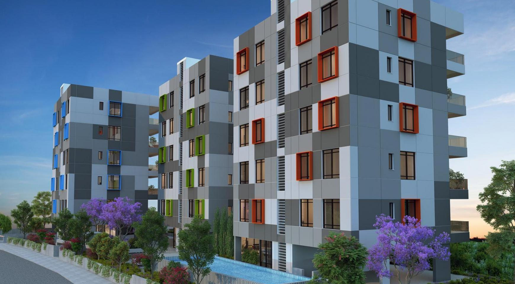Urban City Residences, Block B. Новая Просторная 2-Спальная Квартира 202 в Центре Города - 20
