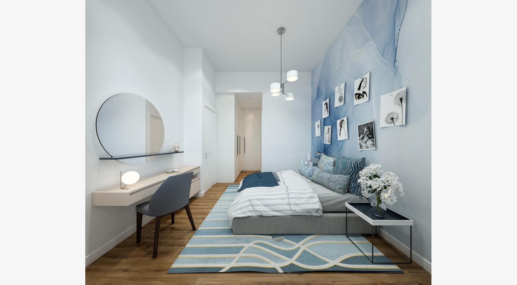 Urban City Residences, Block B. Новая Просторная 3-Спальная Квартира 301 в Центре Города - 11