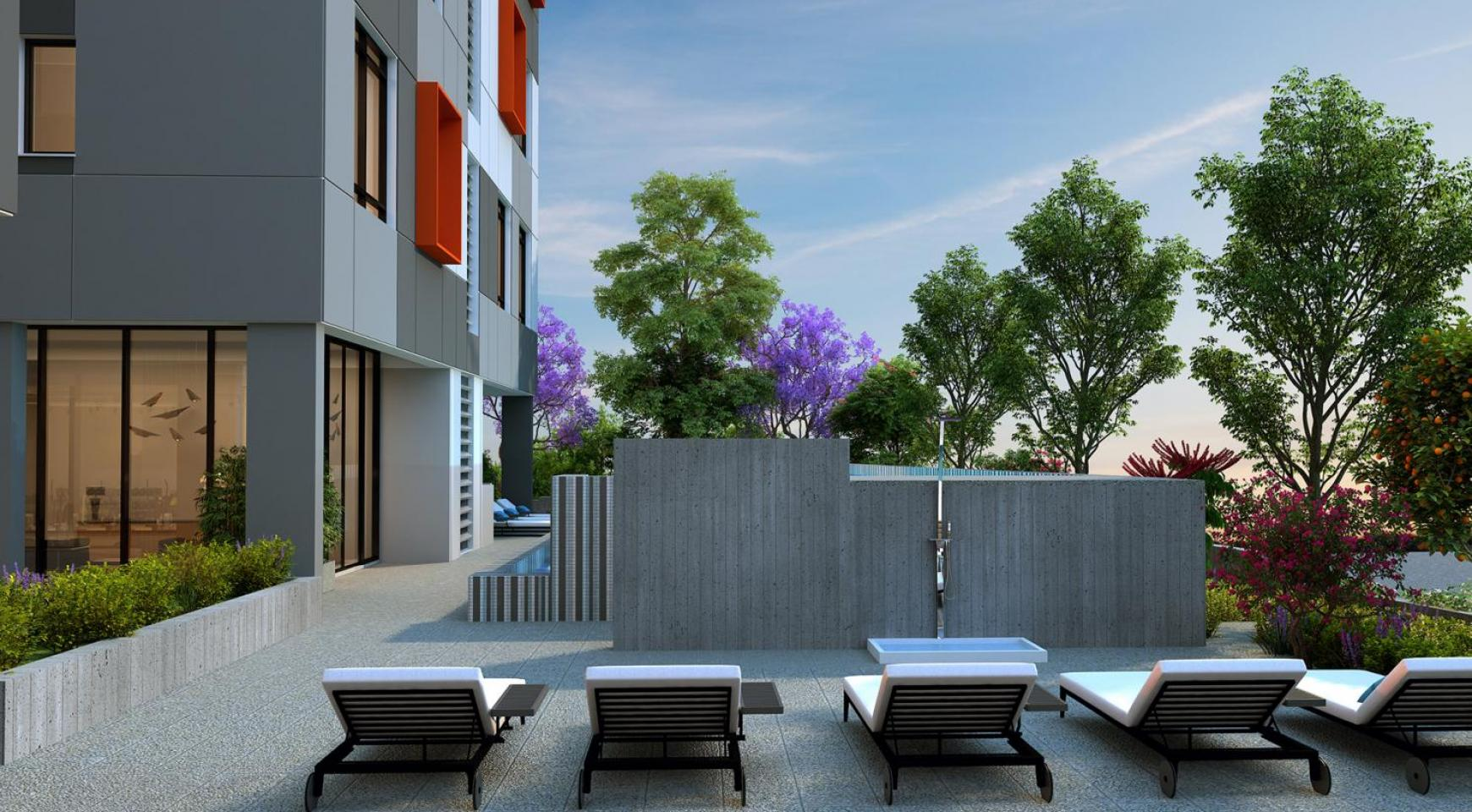 Urban City Residences, Block B. Новая Просторная 2-Спальная Квартира 302 в Центре Города - 27