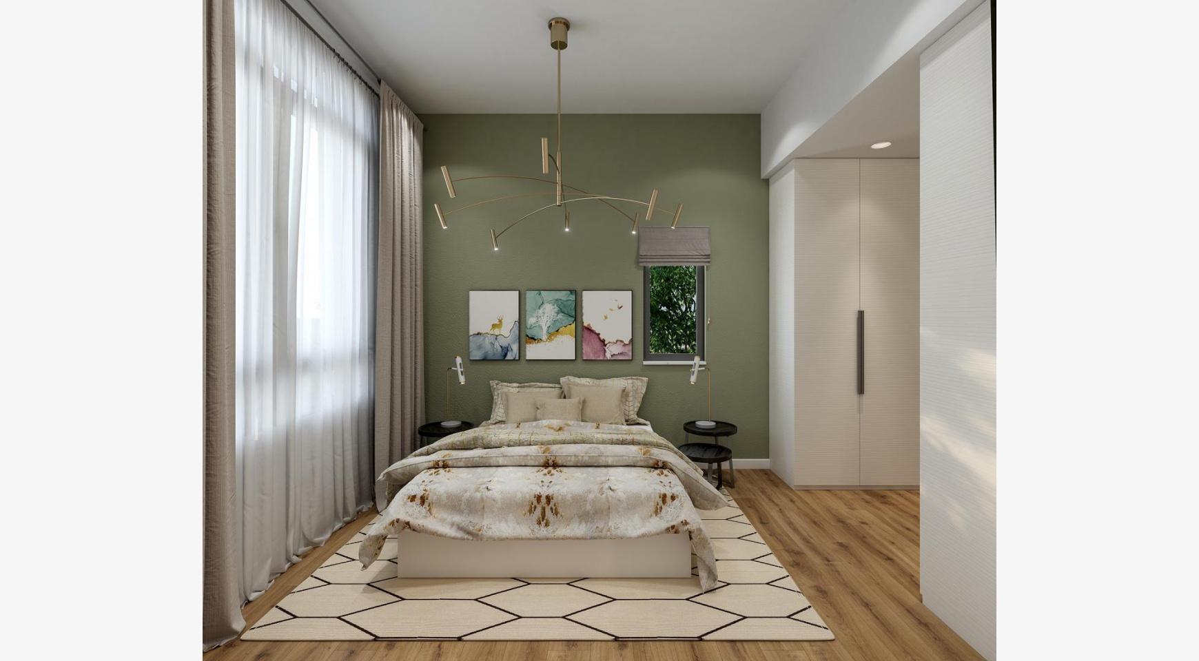 Urban City Residences, Block B. Новая Просторная 2-Спальная Квартира 302 в Центре Города - 6