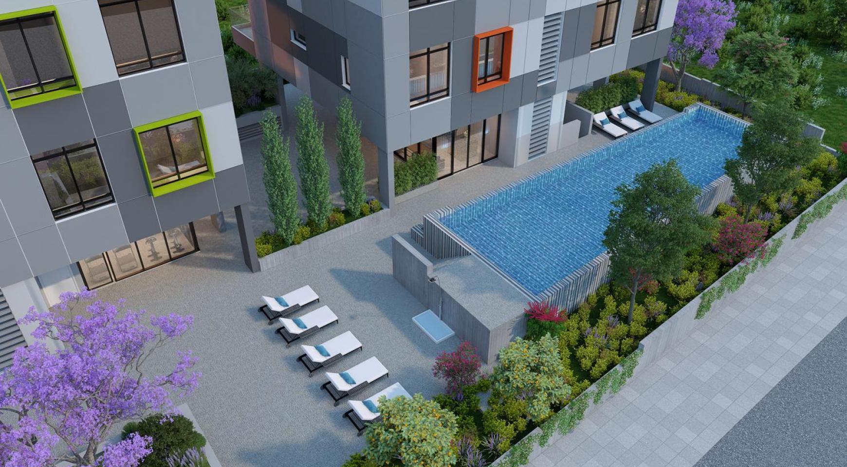 Urban City Residences, Block B. Новая Просторная 2-Спальная Квартира 302 в Центре Города - 26