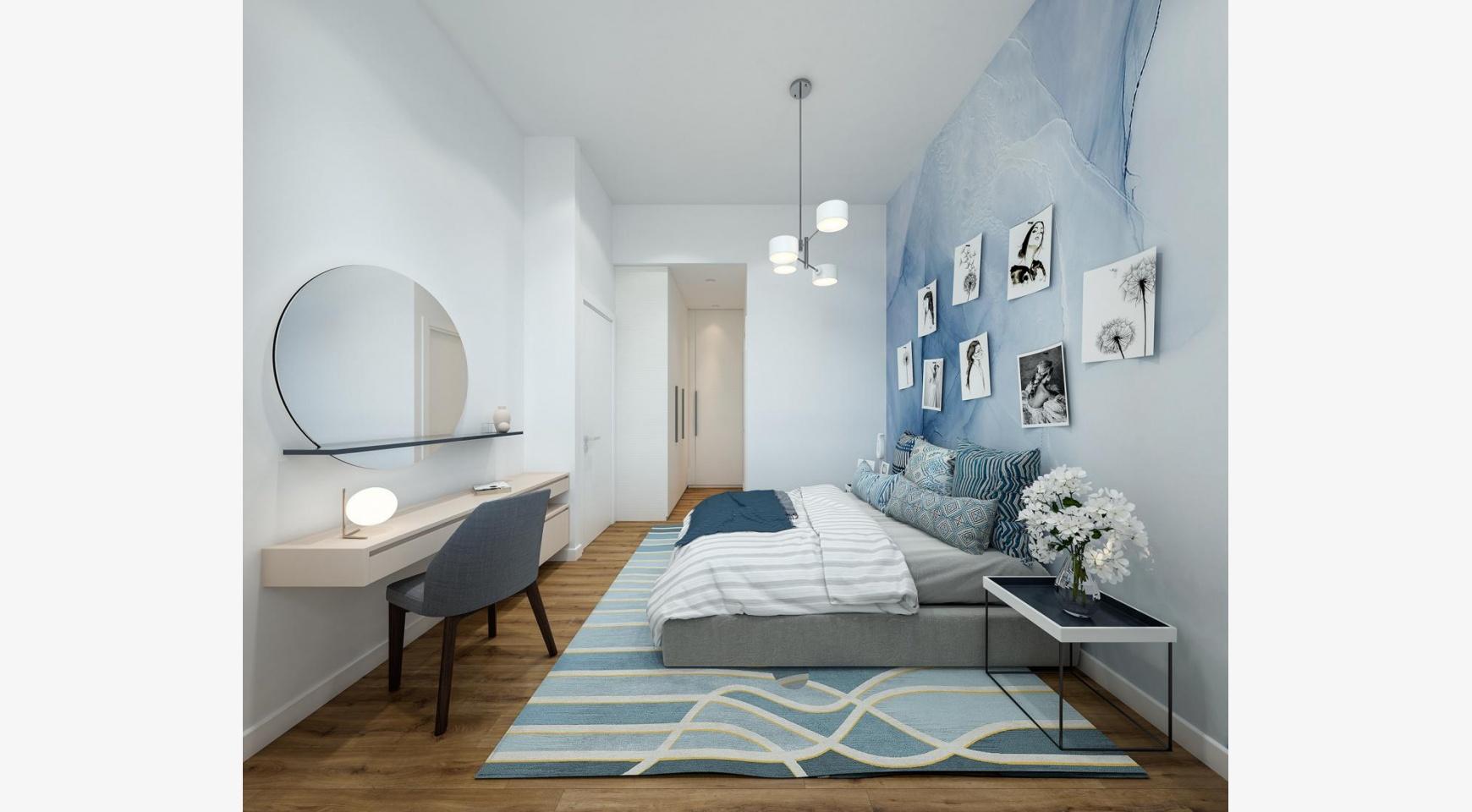 Urban City Residences, Block B. Новая Просторная 2-Спальная Квартира 302 в Центре Города - 11