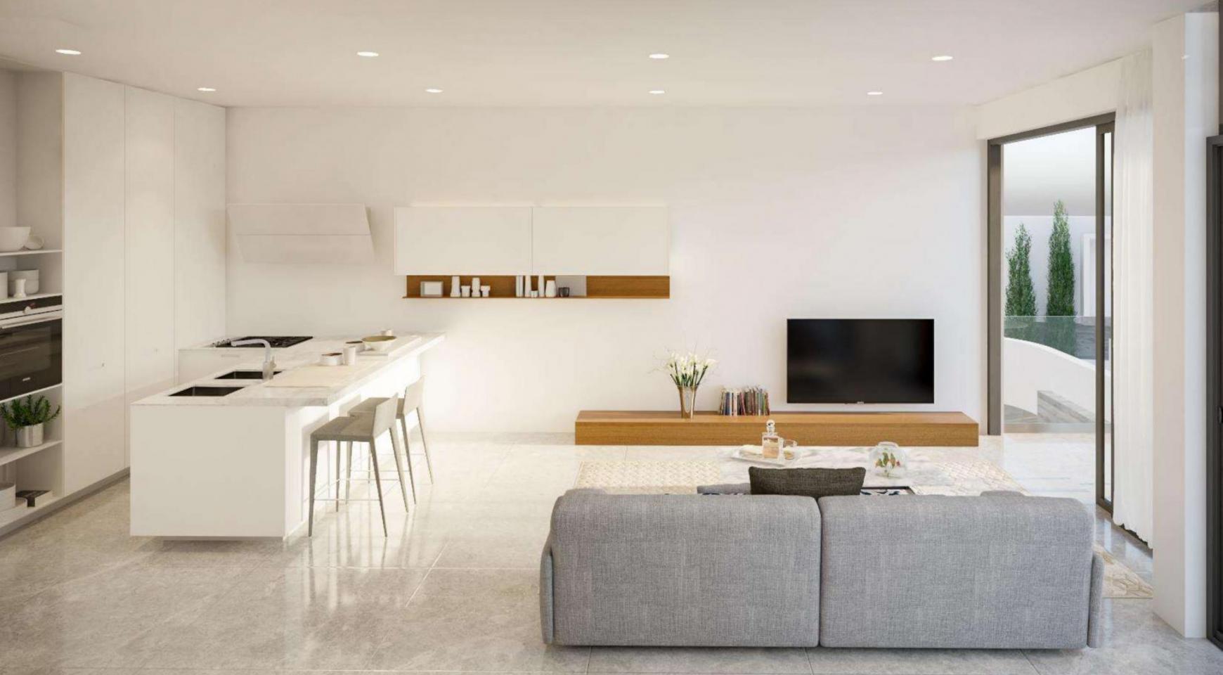 Новый Элитный 2-Спальный Таунхаус в Районе Agios Tychonas - 4