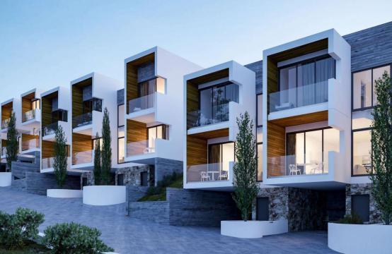Новый Элитный 2-Спальный Таунхаус в Районе Agios Tychonas
