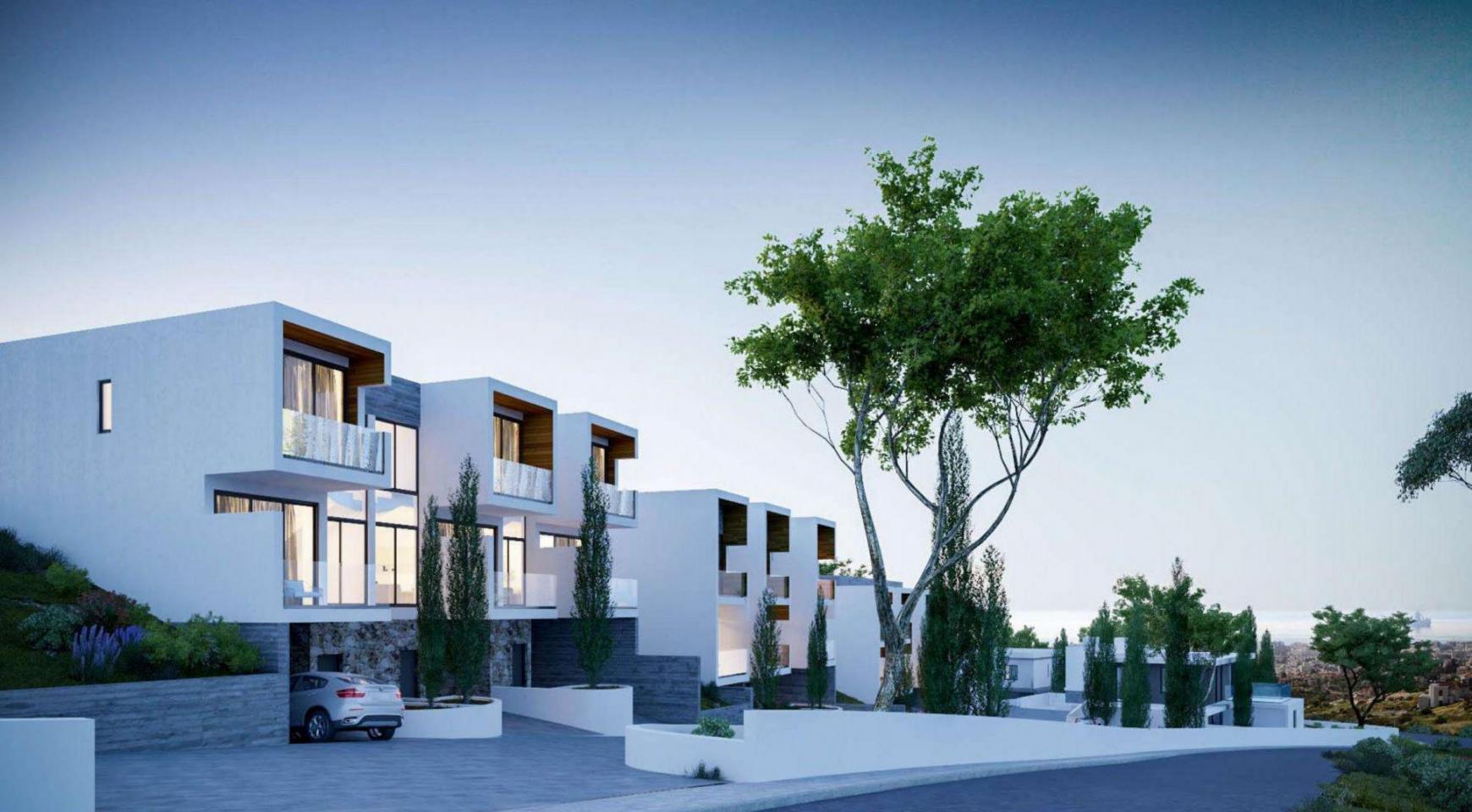 Новый Элитный 2-Спальный Таунхаус в Районе Agios Tychonas - 2