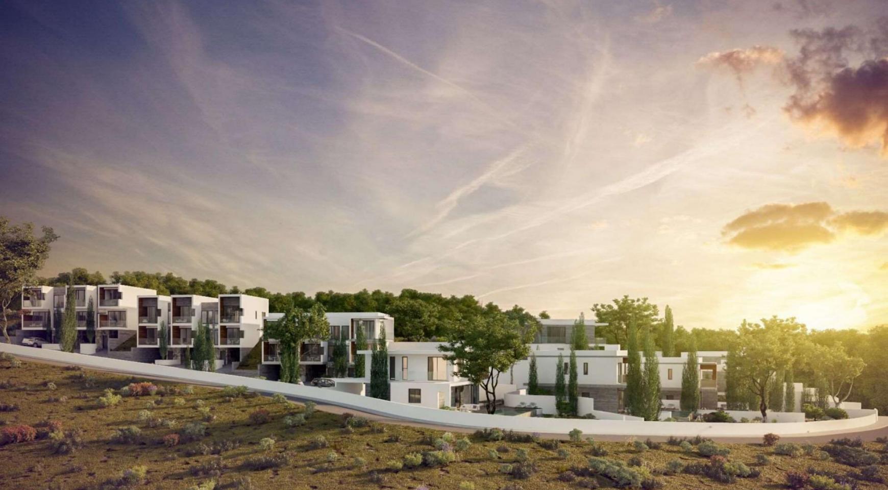 Новый Элитный 2-Спальный Таунхаус в Районе Agios Tychonas - 9