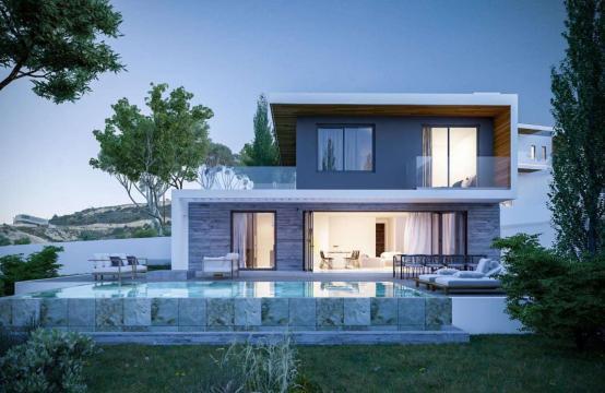 Элитная 4-Спальная Вилла в Новом Проекте в Районе Agios Tychonas