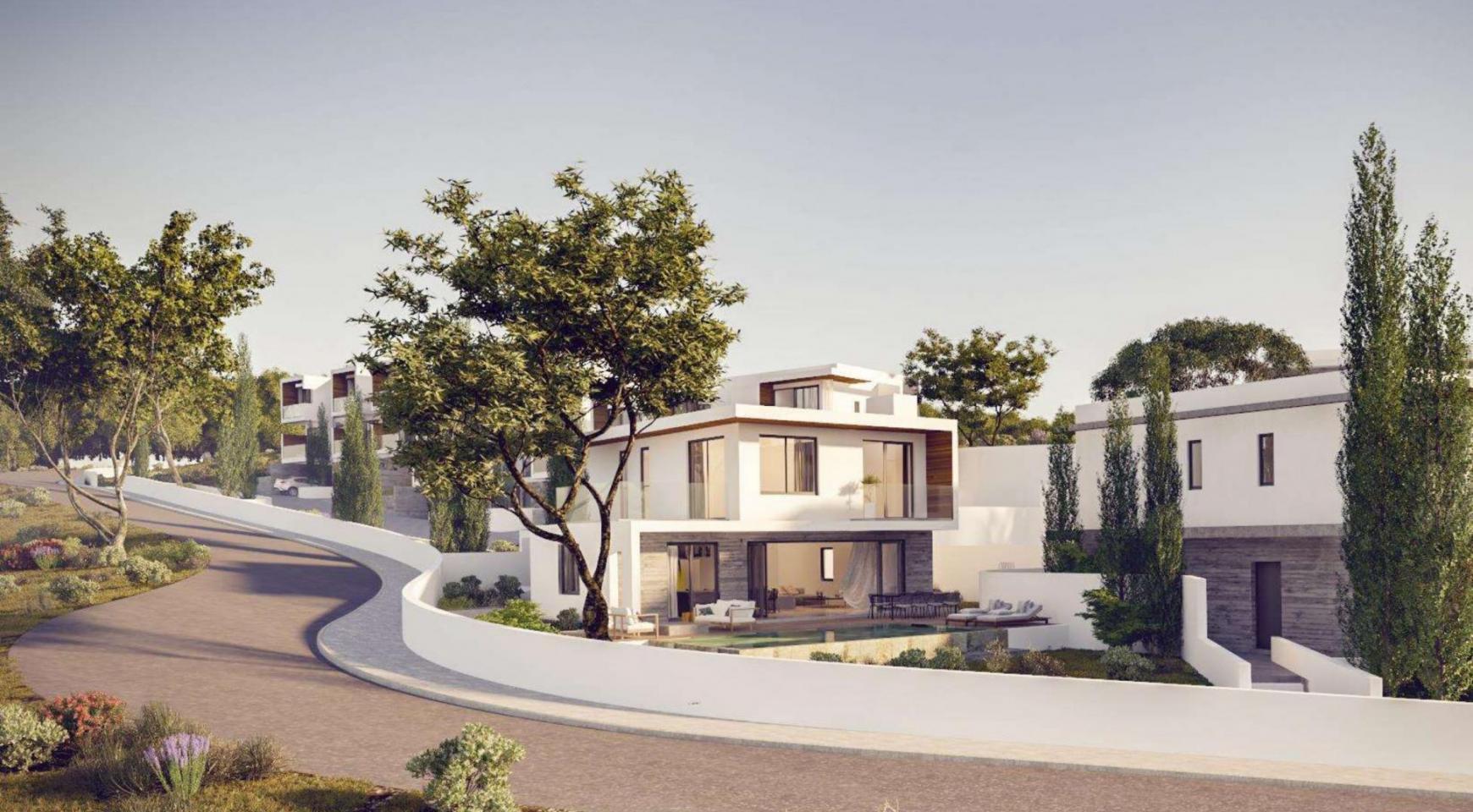 Элитная 3-Спальная Вилла в Новом Проекте в Районе Agios Tychonas - 11