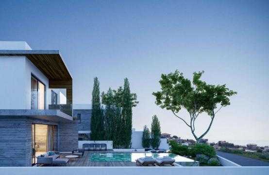 Элитная 3-Спальная Вилла в Новом Проекте в Районе Agios Tychonas