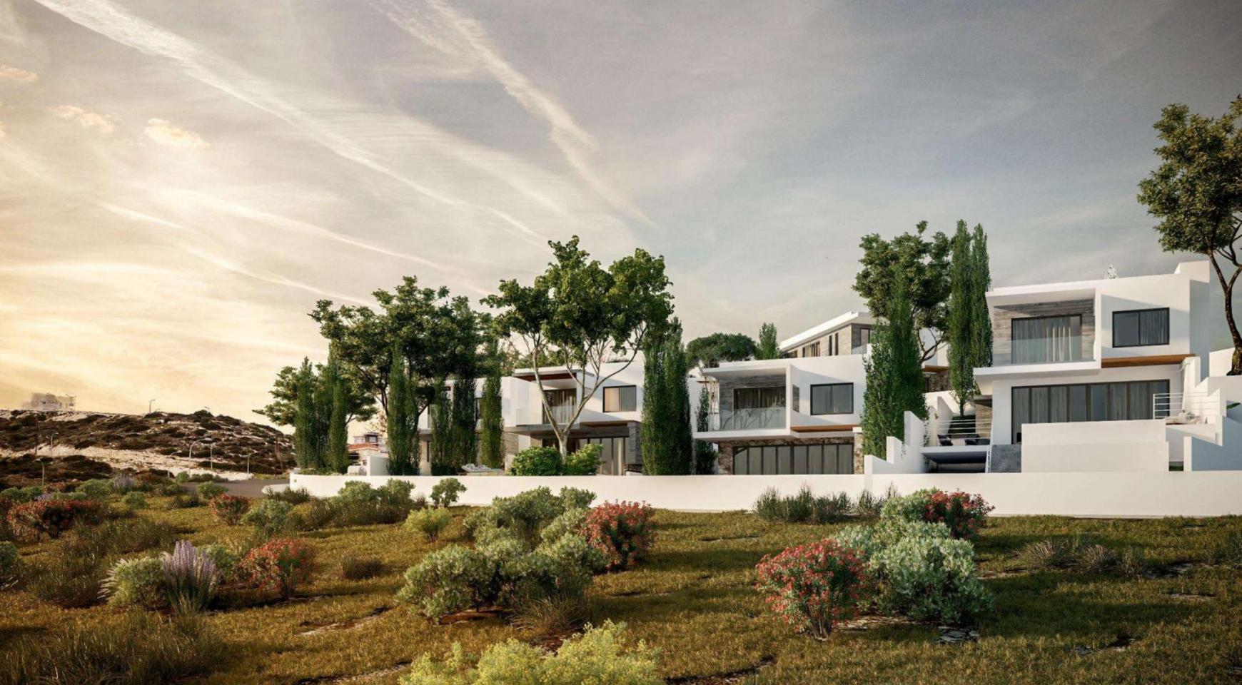 Элитная 3-Спальная Вилла в Новом Проекте в Районе Agios Tychonas - 9