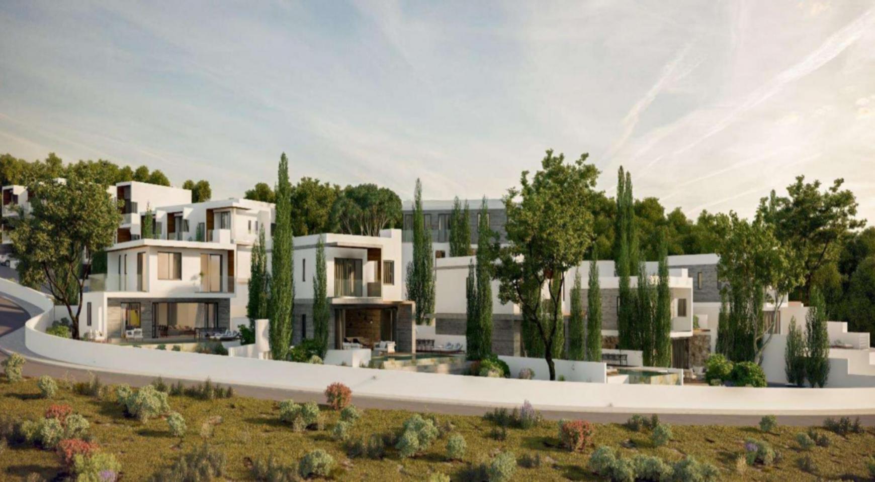 Элитная 3-Спальная Вилла в Новом Проекте в Районе Agios Tychonas - 8