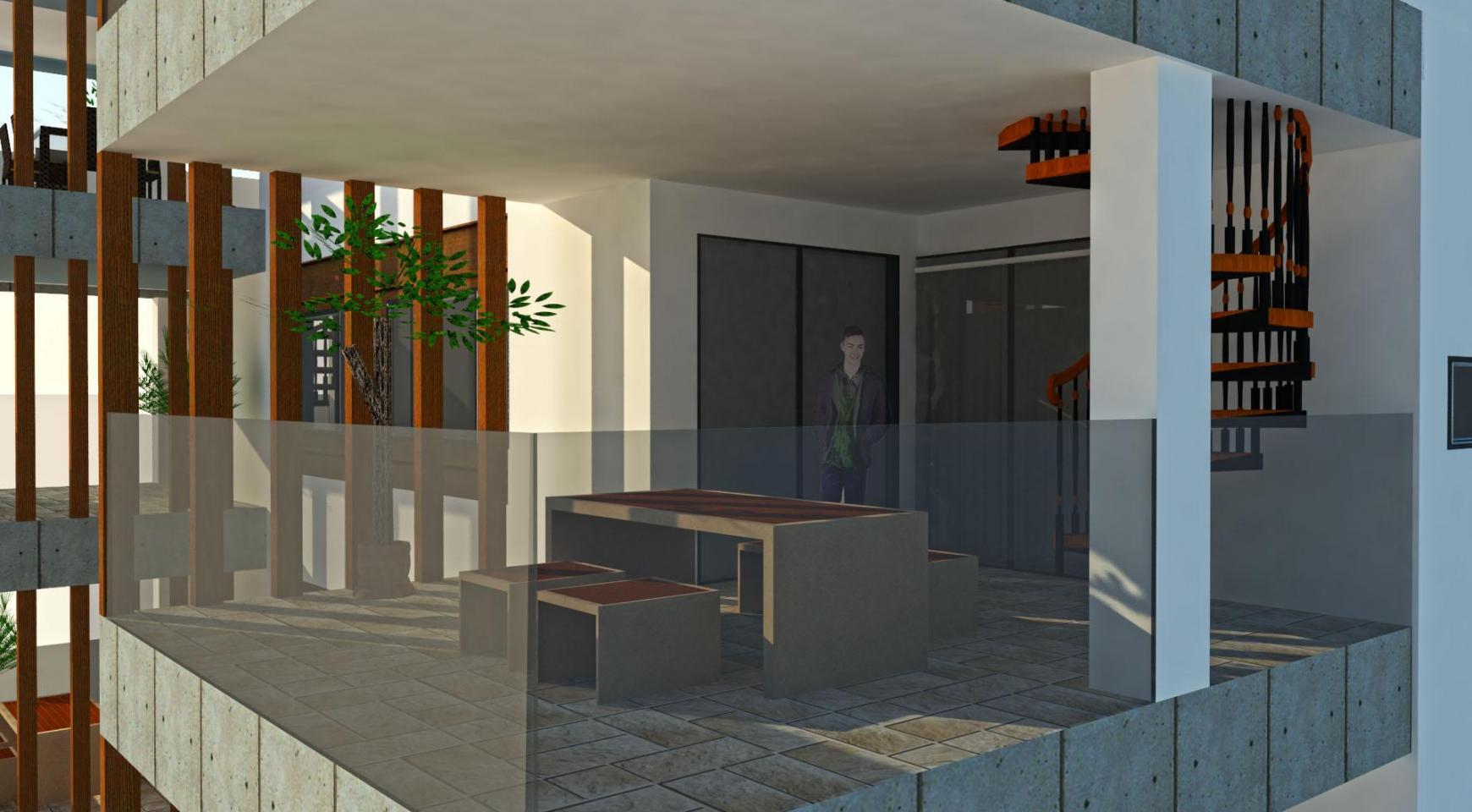 Новая 2-Спальная Квартира с Террасой на Крыше в Современном Здании в Центре Города - 4