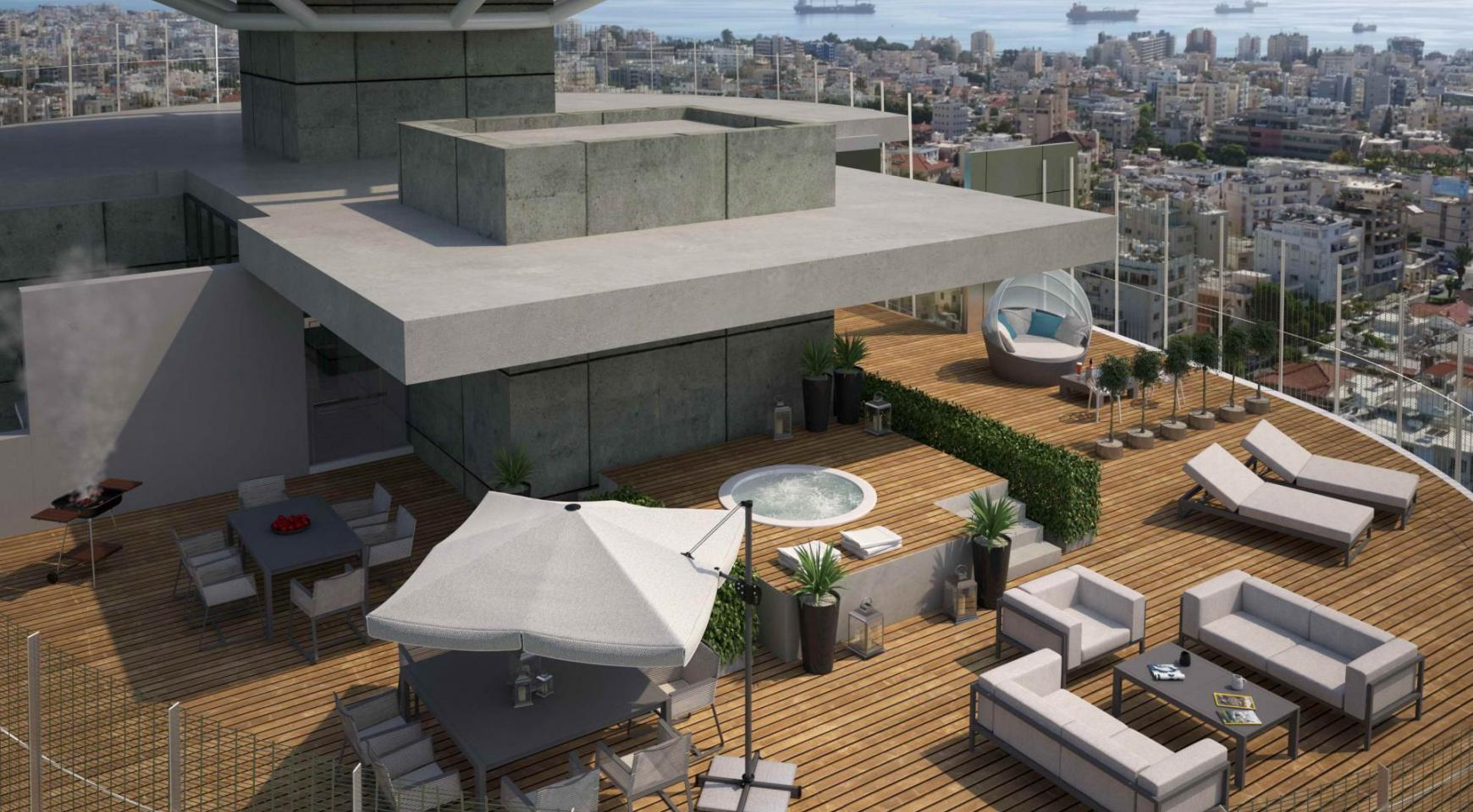 3-Спальный Пентхаус с Панорамными Видами на Море и Город - 2