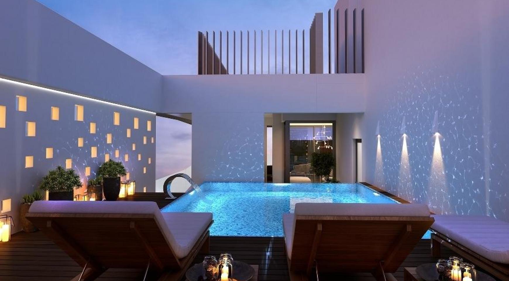 Новая 3-Спальная Квартира в Современном Комплексе в Районе Germasogeia - 2