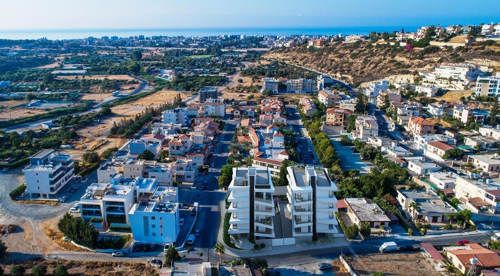 Новая 2-Спальная Квартира в Современном Здании в Районе Germasogeia - 10