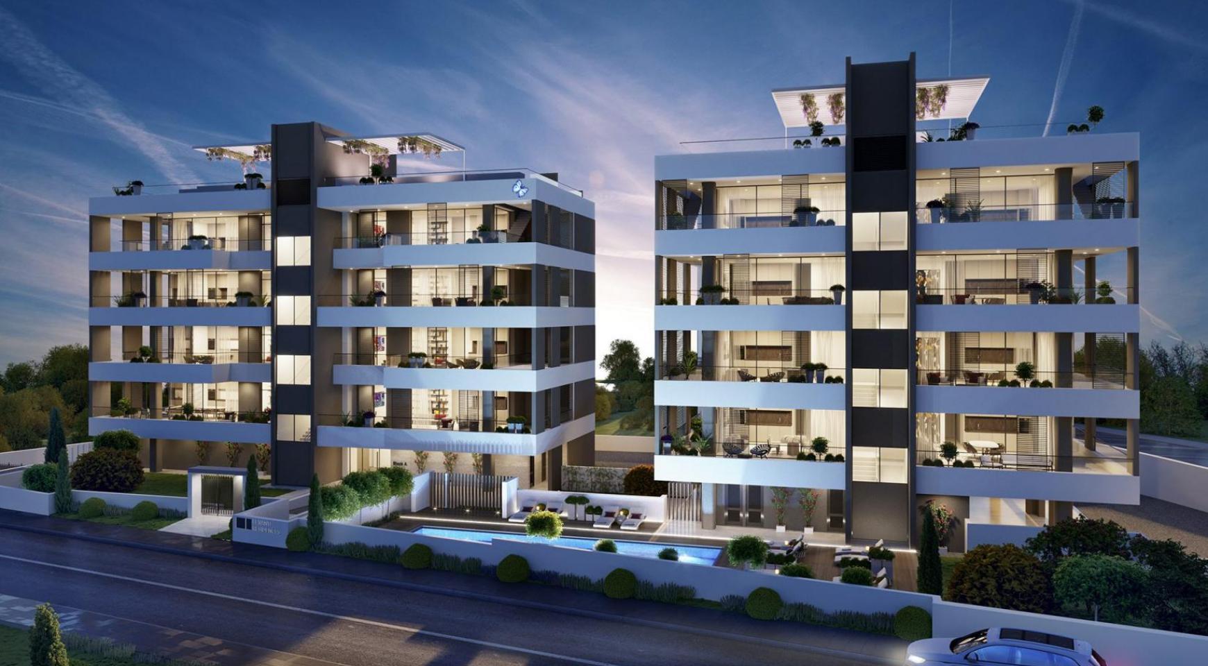 Роскошная 3-Спальная Квартира в Новом Комплексе в Районе Potamos Germasogeia - 1