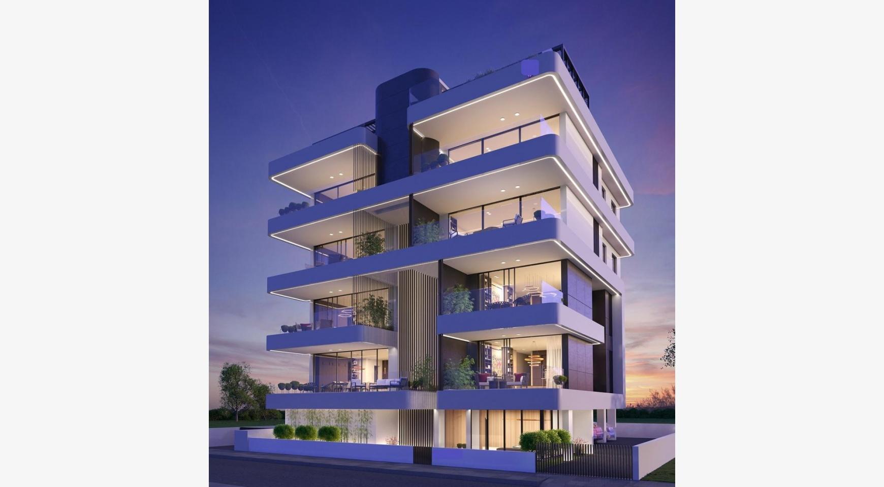 Новая 3-Спальная Квартира в Современном Здании в Центре Города - 1