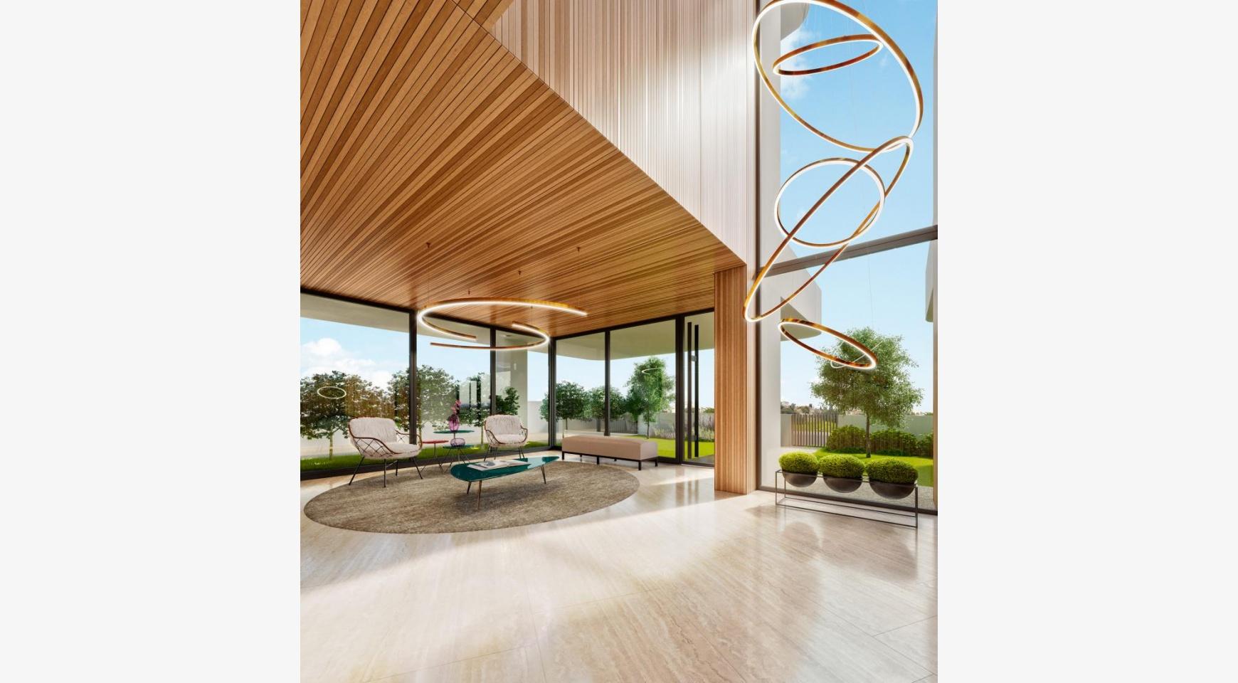 Новая 3-Спальная Квартира с Частной Террасой на Крыше в Центре Города - 5