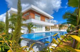 Современная 4-Спальная Вилла с Видом на Море в Районе Agios Tychonas - 14