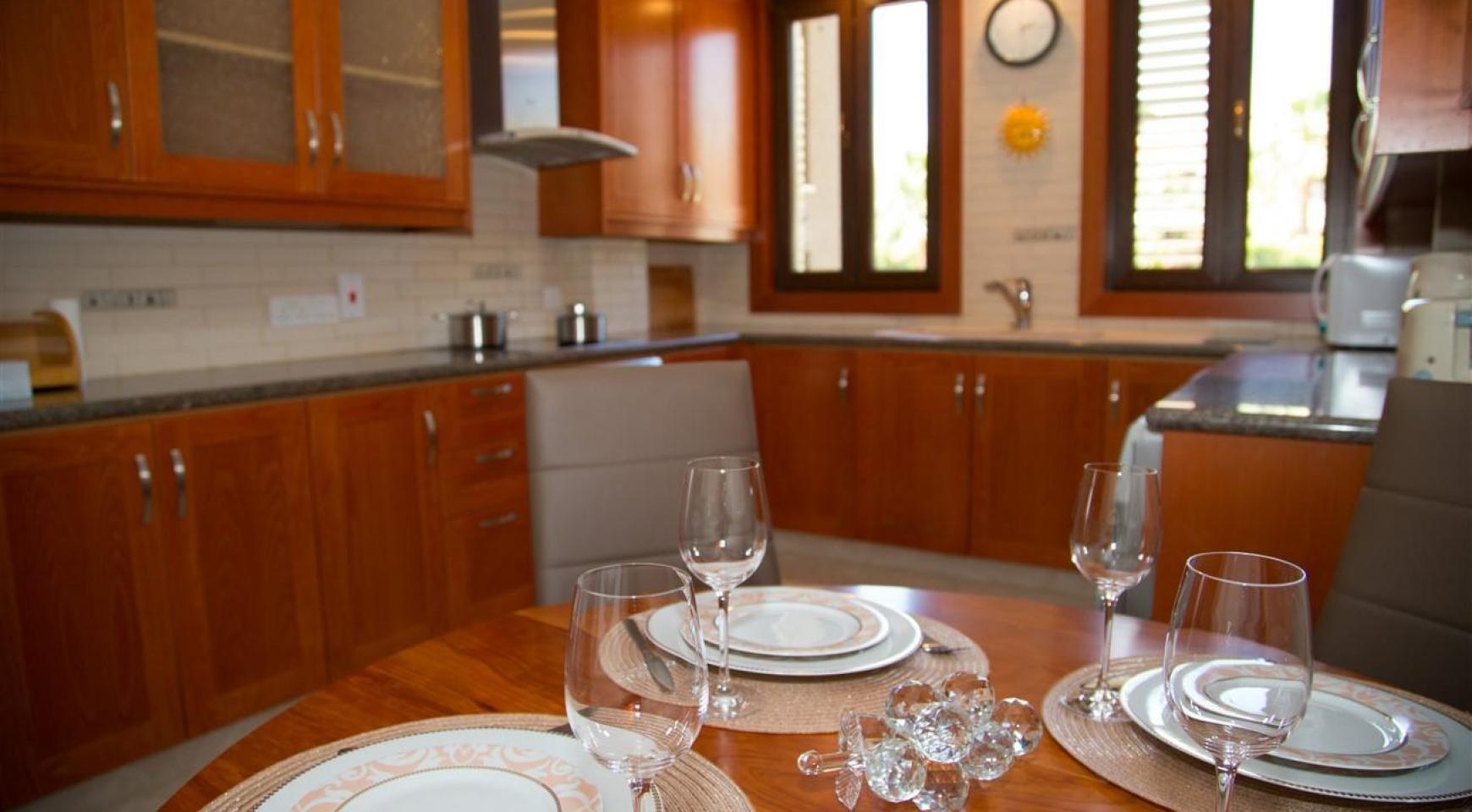 3-Спальная Квартира на Берегу Моря в Комплексе Thera   - 26