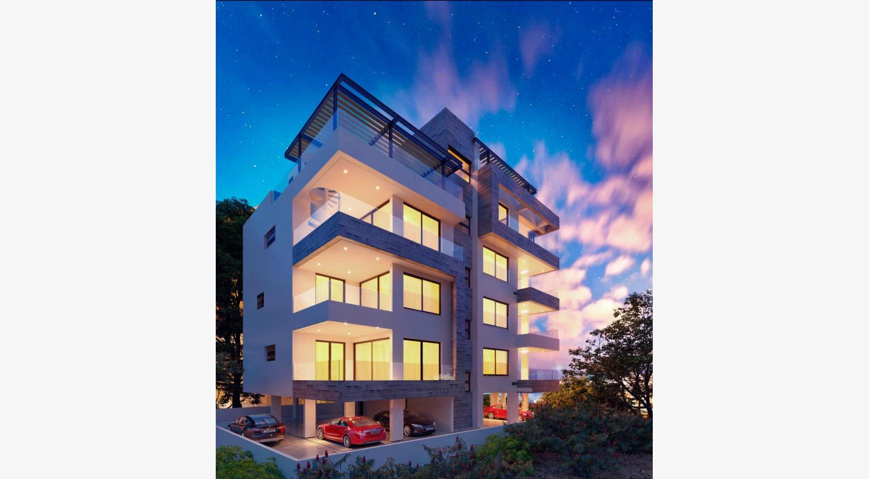 Новая 2-спальная Квартира в Современном Здании у Моря - 3