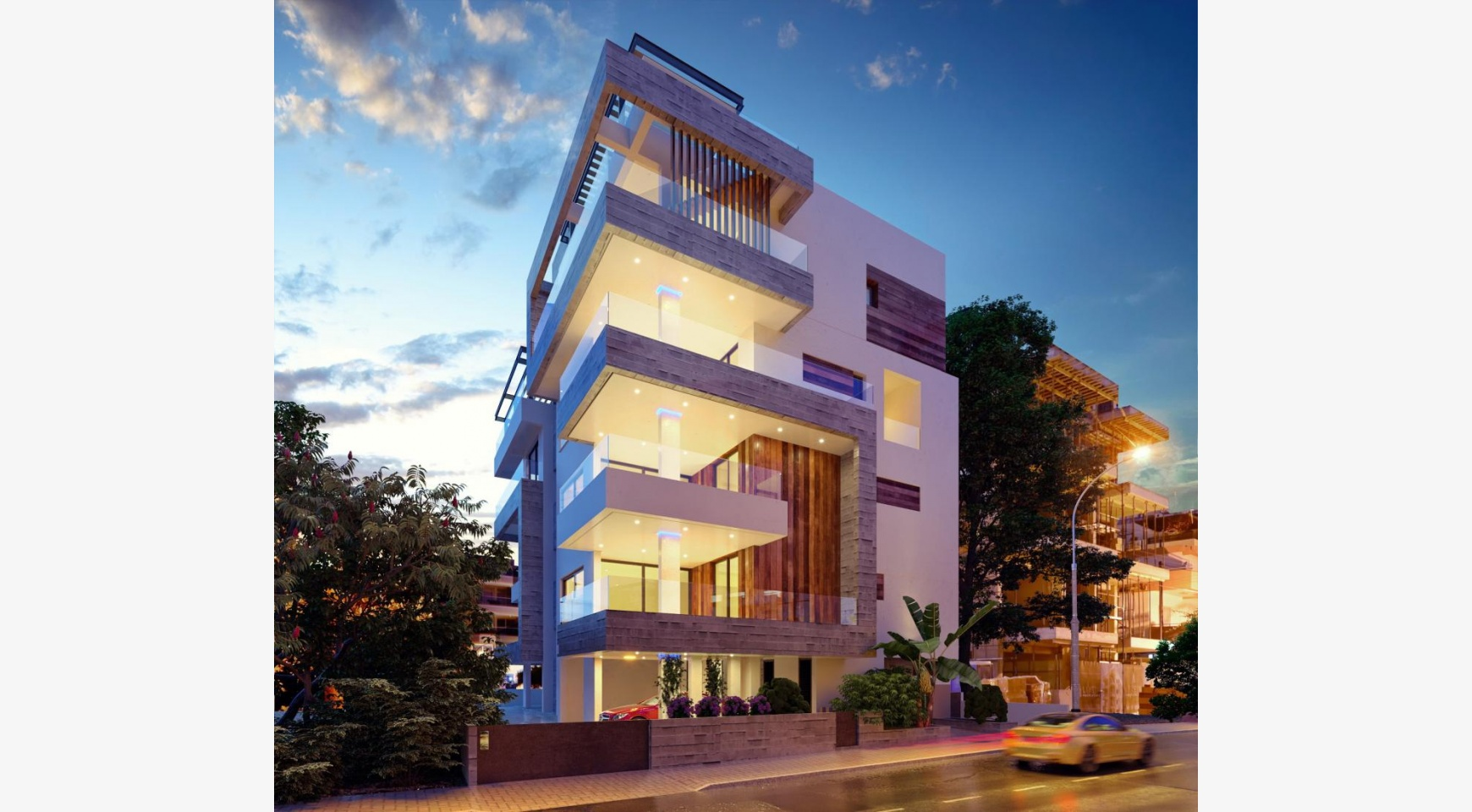Новая 3-Спальная Квартира в Современном Здании у Моря - 1